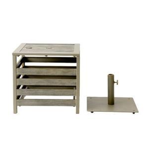 アウトドア テラス ガーデンテーブル ベース PATIO PETITE(パティオプティ) プルマン パラソル テーブル|clubestashop