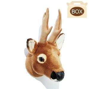 WILD&SOFT(ワイルドアンドソフト) アニマルヘッド ノロジカ 専用ボックス入り BIBIB&Co(ビビブアンドコー) Animal Head|clubestashop