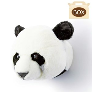 WILD&SOFT(ワイルドアンドソフト) アニマルヘッド パンダ 専用ボックス入り BIBIB&Co(ビビブアンドコー) Animal Head|clubestashop