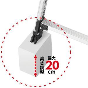 長谷川工業 軽量専用脚立 脚軽 伸縮タイプ RZS1.0-18 あしがる|clubestashop|03