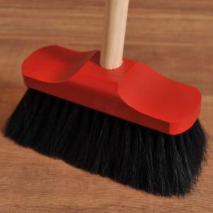 Redecker(レデッカー) 赤いヘッドのデッキブラシ 70cm|clubestashop|02