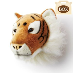 WILD&SOFT(ワイルドアンドソフト) アニマルヘッド タイガー BB25 専用ボックス入り BIBIB&Co(ビビブアンドコー) Animal Head|clubestashop