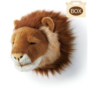 WILD&SOFT(ワイルドアンドソフト) アニマルヘッド ライオン 専用ボックス入り BIBIB&Co(ビビブアンドコー) Animal Head|clubestashop