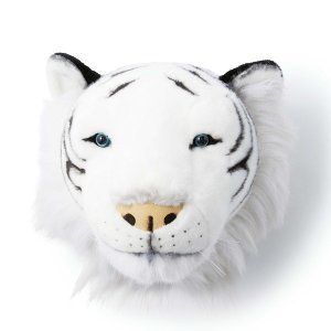 WILD&SOFT(ワイルドアンドソフト) アニマルヘッド ホワイトタイガー BIBIB&Co(ビビブアンドコー) Animal Head clubestashop