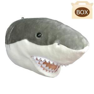 WILD&SOFT(ワイルドアンドソフト) アニマルヘッド サメ 専用ボックス入り BIBIB&Co(ビビブアンドコー) Animal Head|clubestashop