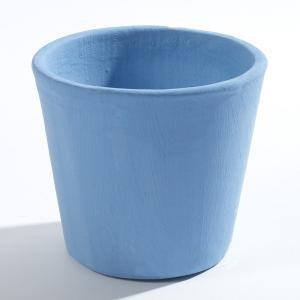 SERAX(セラックス) コンテナーポット ミディアム グリーンブルー 鉢底穴なし 5号鉢サイズ 鉢カバー|clubestashop
