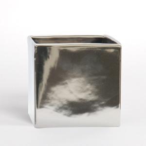D&M(ディーアンドエム) キューブポット #11 シルバー 植木鉢/鉢カバー AAR1156SI|clubestashop