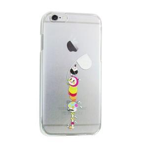 クラブエスタグッズ iPhone6/iPhone6s ケース くいしん坊きむし|clubestashop