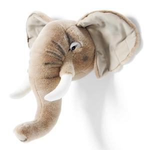 WILD&SOFT(ワイルドアンドソフト) アニマルヘッド ゾウ BB33 BIBIB&Co(ビビブアンドコー) Animal Head TVで紹介 7月14日放送 王様のブランチ|clubestashop