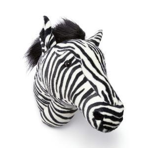 WILD&SOFT(ワイルドアンドソフト) アニマルヘッド シマウマ BB37 BIBIB&Co(ビビブアンドコー) Animal Head|clubestashop