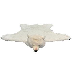 WILD&SOFT(ワイルドアンドソフト) Animal Head アニマルヘッド ブランケット シロクマ BB901 BIBIB&Co(ビビブアンドコー)|clubestashop