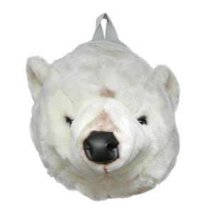 WILD&SOFT(ワイルドアンドソフト) Animal Head アニマルヘッド バックパック シロクマ BB303 BIBIB&Co(ビビブアンドコー)|clubestashop