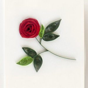 quilling card quilling card rose gift enclosure ge501 negle Choice Image