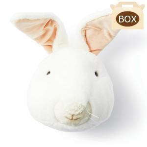 WILD&SOFT(ワイルドアンドソフト) アニマルヘッド ウサギ WS0012 専用ボックス入り BIBIB&Co(ビビブアンドコー) Animal Head|clubestashop