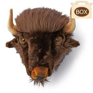 WILD&SOFT(ワイルドアンドソフト) アニマルヘッド バッファロー WS0054 専用ボックス入り BIBIB&Co(ビビブアンドコー) Animal Head|clubestashop