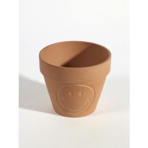 SERAX(セラックス) テラコッタスマイリーポット Φ20 鉢底穴あり 6.5号鉢サイズ 素焼き鉢|clubestashop