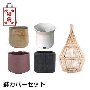 福袋D&M(ディーアンドエム) インテリア鉢カバーセット 1万円コース D&M(ディーアンドエム) clubestashop