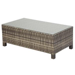 PATIO PETITE(パティオプティ) SAHARA サハラ・ローテーブル3 ガラス天板テーブル 屋外用家具|clubestashop