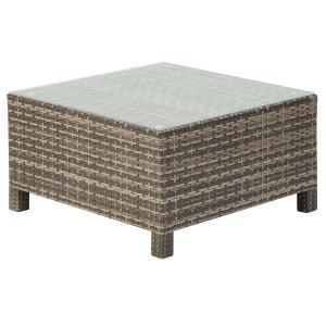 PATIO PETITE(パティオプティ) SAHARA サハラ・ローテーブル2 ガラス天板テーブル 屋外用家具|clubestashop