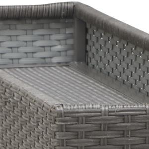 PATIO PETITE(パティオプティ) フィオーレ・ラタン・テーブル プランター台付 折りたたみ式テーブル 屋外家具|clubestashop|04