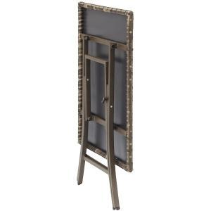 PATIO PETITE(パティオプティ) SAHARA サハラ・スクエアテーブル 折りたたみ式テーブル 屋外用家具|clubestashop|02