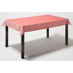BORGO DELLE TOVAGLIE(ボルゴ) テーブルクロス レクタングル ピンク 116×176|clubestashop
