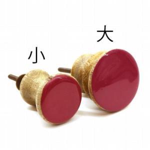 clubESTA Original つまみ ノブ ウッドエナメルノブ ピンク 小 ピンク|clubestashop|05