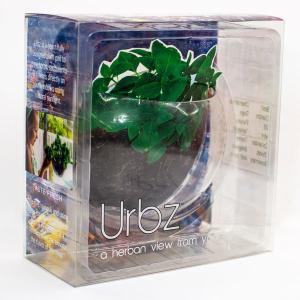 URBZ(アーブス) 壁に貼るプランター クリア/ホワイト/グリーン/ピンク clubestashop 02