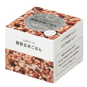 IZAMESHI(イザメシ) CAN 缶詰 小豆が入った雑穀玄米ごはん (長期保存食/3年保存/缶)|clubestashop|02