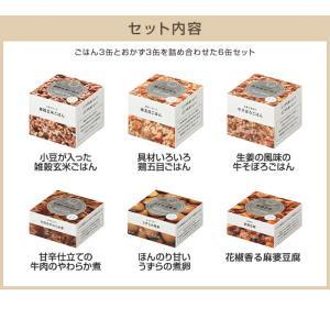 IZAMESHI(イザメシ) ギフトセット 缶詰 CAN BAG カンバッグ 6缶セット RED レッド (長期保存食/3年保存/缶) clubestashop 02