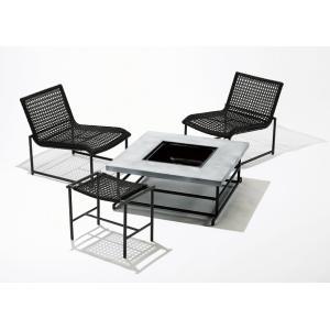 PATIO PETITE(パティオプティ) MAガーデン4点セット MAシリーズ マシリーズ チェア×2 テーブル×1 スツール×1 ラウンジチェア ファイヤーピットテーブル|clubestashop