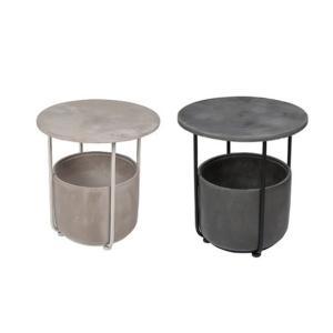 D&M(ディーアンドエム) アーケードテーブル H45.5 ホワイト/ブラック clubestashop