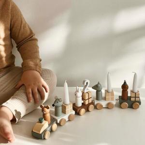 Bloomingville MINI(ブルーミングヴィルミニ) バースデーデコレーション オブジェ 置物 誕生日 バースデー 飾り 木製 おもちゃ|clubestashop