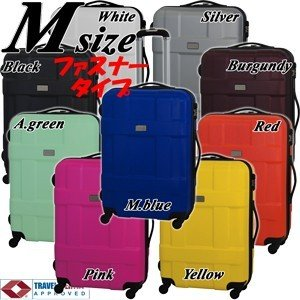 スーツケース 中型 軽量 ファスナー スーツケース中型 スーツケース 8511 SUITCASE|clubtourist