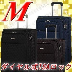 スーツケース M 中型 ソフトキャリー 超軽量 |clubtourist