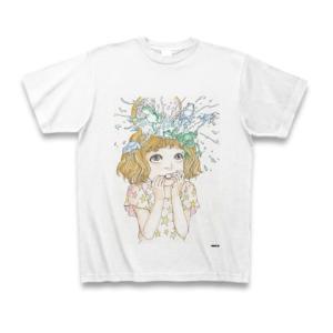 駕籠真太郎 作品No.012 Tシャツ(ホワイト)|clubtstore