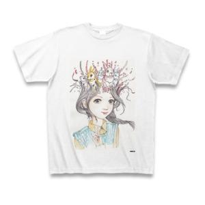 駕籠真太郎 作品No.011 Tシャツ(ホワイト)|clubtstore