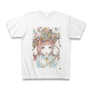 駕籠真太郎 作品No.008 Tシャツ(ホワイト)|clubtstore