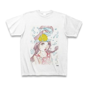 駕籠真太郎 作品No.006 Tシャツ(ホワイト)|clubtstore