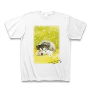 村松誠 ビッグコミックオリジナル2016年3月20日号「タンポポと犬」Tシャツ(ホワイト)|clubtstore