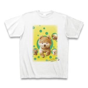 村松誠 ビッグコミックオリジナル2016年4月20日号「飛び出す子犬たち」Tシャツ(ホワイト)|clubtstore