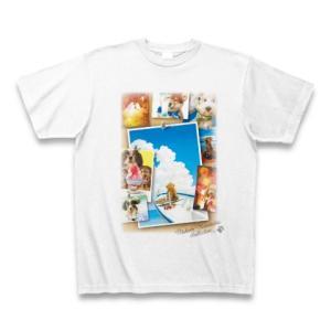 村松誠 ビッグコミックオリジナル2016年8月20日号「夏と犬」 Tシャツ(ホワイト)|clubtstore