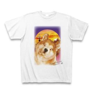 村松誠 ビッグコミックオリジナル2016年9月20日号「犬と夕暮れ」Tシャツ(ホワイト)|clubtstore