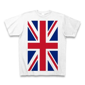 ユニオンジャック Tシャツ(ホワイト)