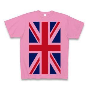 ユニオンジャック Tシャツ(ピンク)