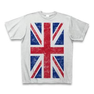 ユニオンジャック(ダメージ) Tシャツ(アッシュ)