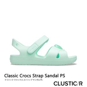 CROCS【クロックス】Classic Crocs Strap Sandal PS/ クラシック ク...
