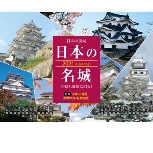 「日本の名城」卓上カレンダー(2021年版)の画像