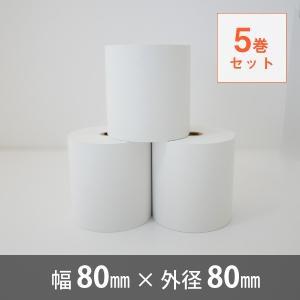 サーマルロール紙 80×80 【5巻セット】 cmi-store