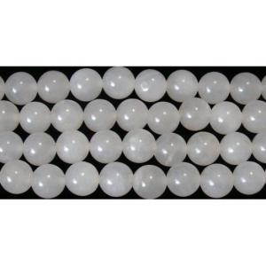 スノークォーツ丸玉8mmBの商品画像